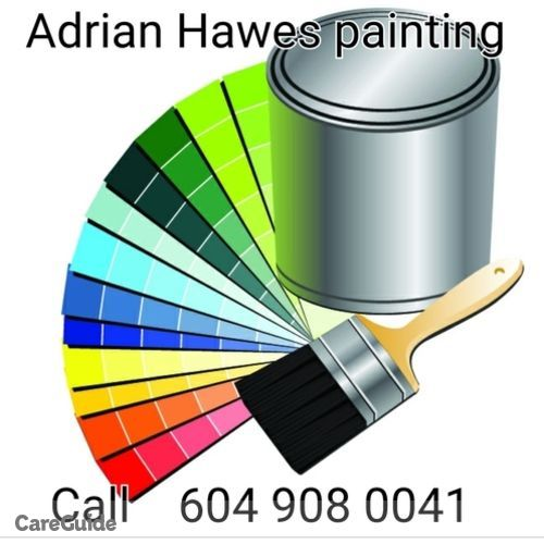 Painter Provider Adrian Hawes's Profile Picture