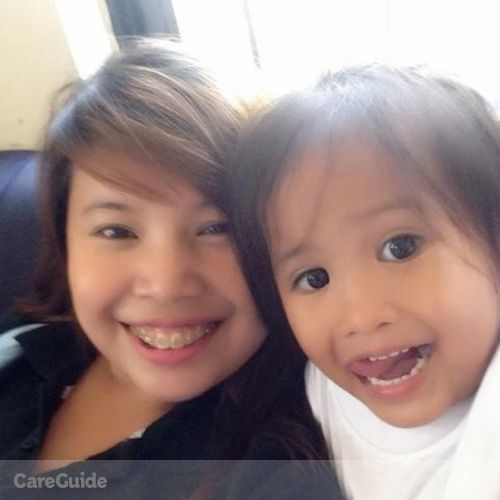 Canadian Nanny Provider Evangielyn Solidum's Profile Picture