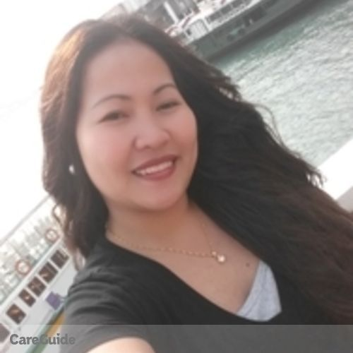 Canadian Nanny Provider Michelle Lagmay's Profile Picture
