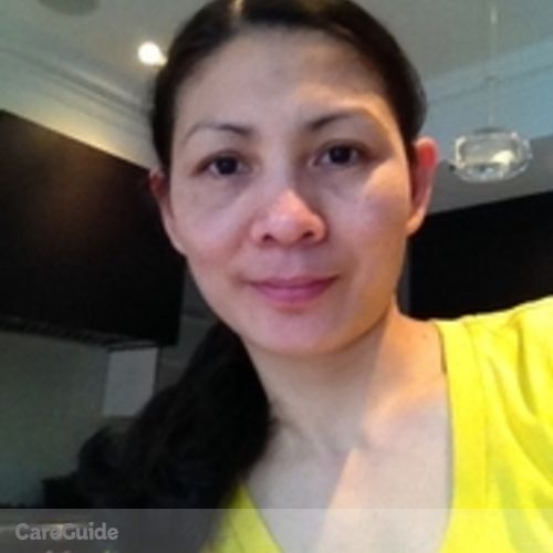 Canadian Nanny Provider Mary joy Roldan's Profile Picture