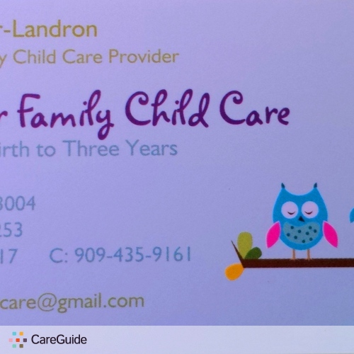 Child Care Provider Tasia Ferrer's Profile Picture