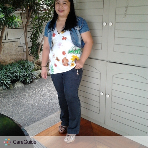 Child Care Provider Margie F. Cabanero's Profile Picture