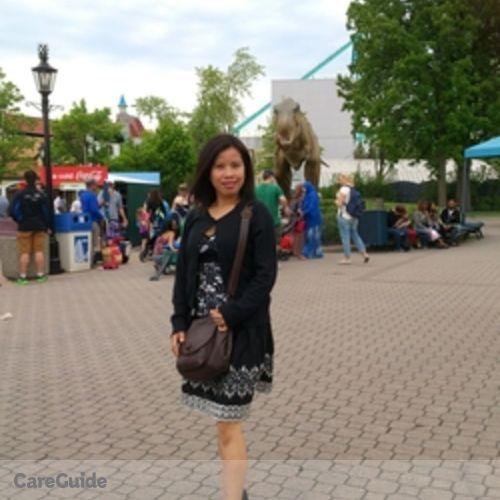 Canadian Nanny Provider Bernadette Sembrano's Profile Picture