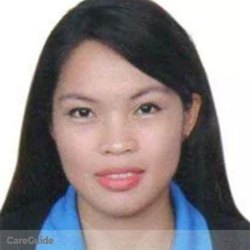 Canadian Nanny Provider Ryalyn Erenio's Profile Picture