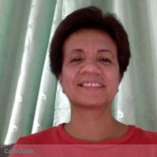 Canadian Nanny Provider Josephine Capulong's Profile Picture
