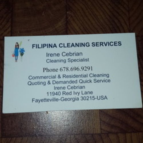 Housekeeper Provider Irene C's Profile Picture