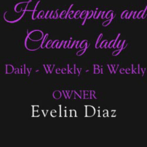 Housekeeper Provider Evelin D's Profile Picture