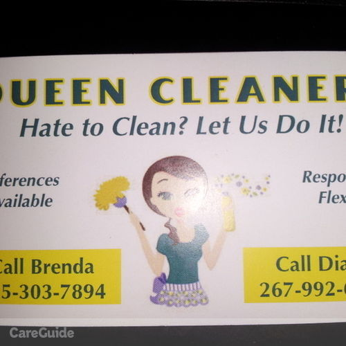 Housekeeper Provider Diana P's Profile Picture