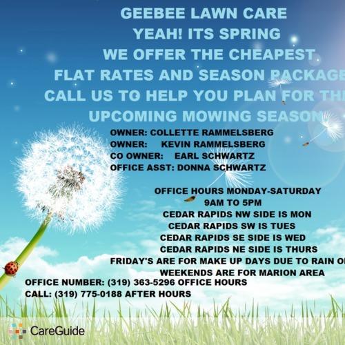 Landscaper Provider GeeBee Lawn Care's Profile Picture