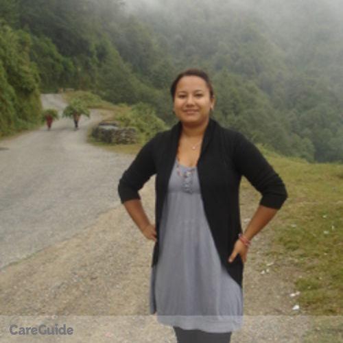 Canadian Nanny Provider Sujana Shrestha's Profile Picture