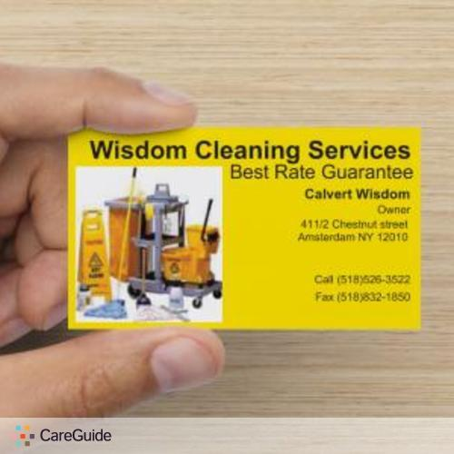 Housekeeper Provider Wisdom Cleaning Services's Profile Picture