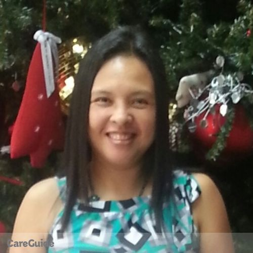 Canadian Nanny Provider Corabella Tanginan's Profile Picture