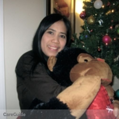 Canadian Nanny Provider Genelyn Mateo's Profile Picture