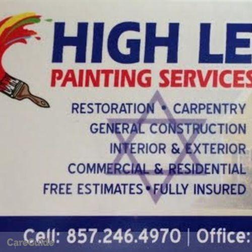 Painter Provider High Level Painting Services's Profile Picture