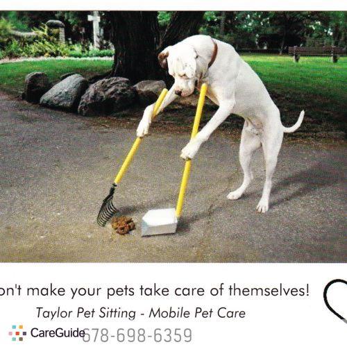 Pet Care Provider Christina Taylor's Profile Picture