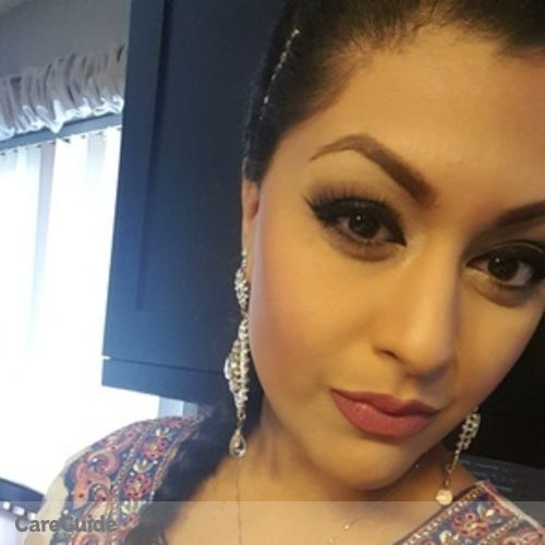 Canadian Nanny Provider Shaheen D's Profile Picture