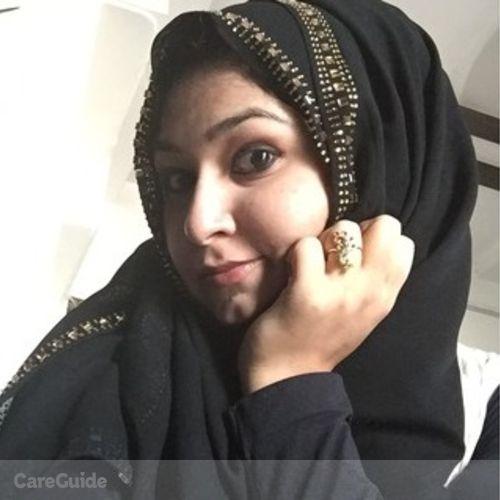 Canadian Nanny Provider Farheen Fatima's Profile Picture