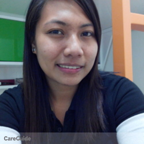 Canadian Nanny Provider Lyneil Mangrubang's Profile Picture
