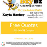 House Cleaning Company, House Sitter in Whitby