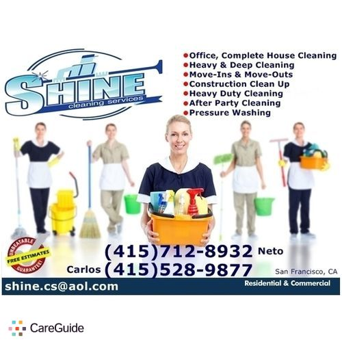 Housekeeper Provider Shine Cleaning Services's Profile Picture