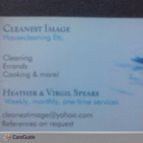 Housekeeper Provider Heather S's Profile Picture