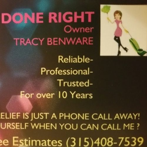 Housekeeper Provider Tracy Benware's Profile Picture