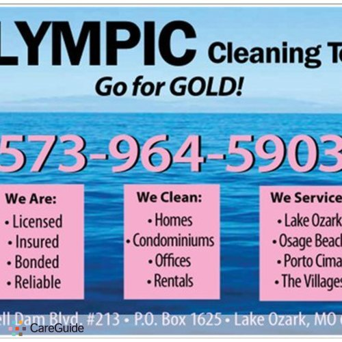 Housekeeper Provider Olympic Cleaning Team - L's Profile Picture