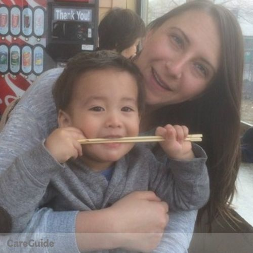 Canadian Nanny Job Vanessa Crossley's Profile Picture