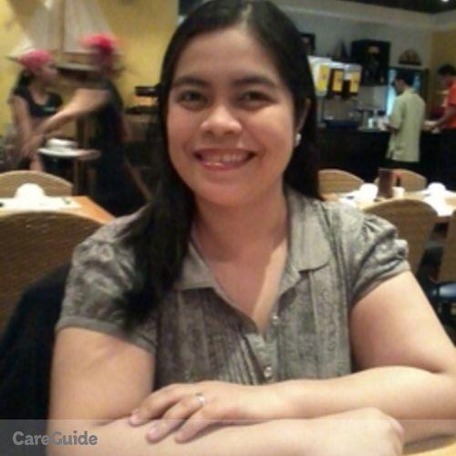 Canadian Nanny Provider Hannah Inigo's Profile Picture