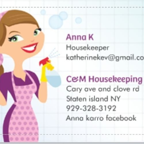 Housekeeper Provider Anna K's Profile Picture
