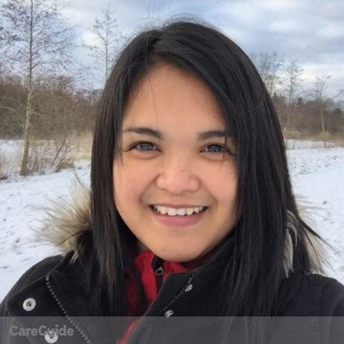 Canadian Nanny Provider Marites Catanus's Profile Picture