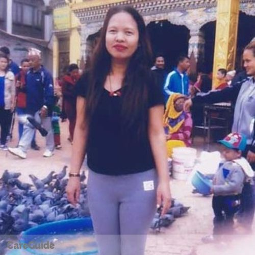 Canadian Nanny Provider Rekha Tamang's Profile Picture