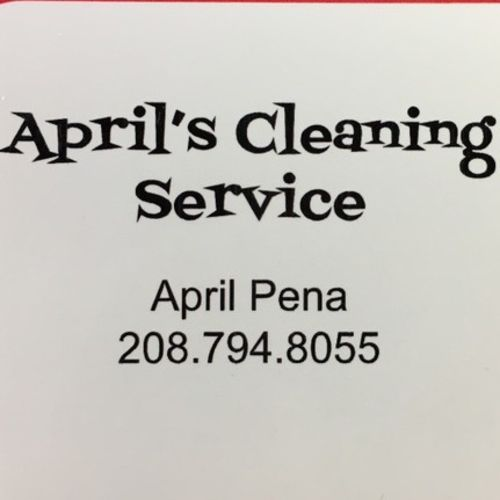 Housekeeper Provider April P's Profile Picture
