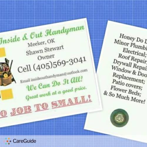 Handyman Provider Shawn Stewart's Profile Picture