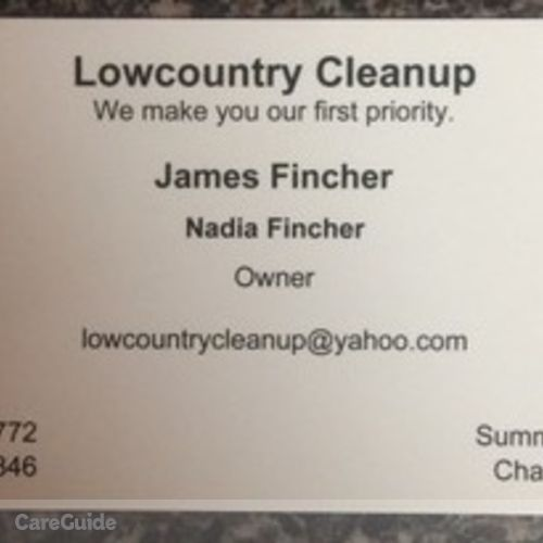 Housekeeper Provider Nadia Fincher's Profile Picture