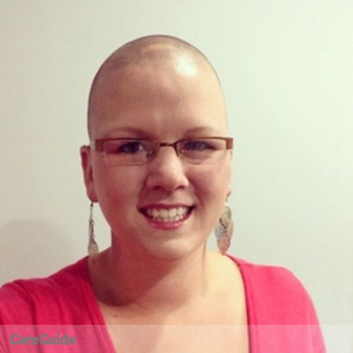 Canadian Nanny Provider Erika Roddick's Profile Picture