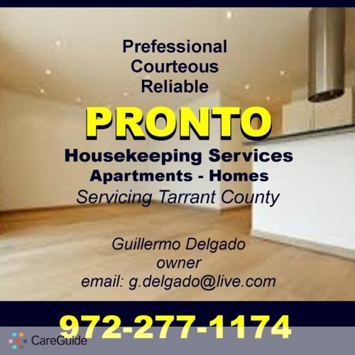 Housekeeper Provider Guillermo Delgado's Profile Picture