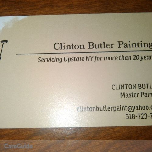Painter Provider Clinton Butler's Profile Picture