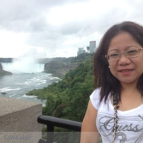 Canadian Nanny Provider Marie Flor B's Profile Picture