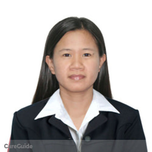 Canadian Nanny Provider Ven Maristela Mason's Profile Picture
