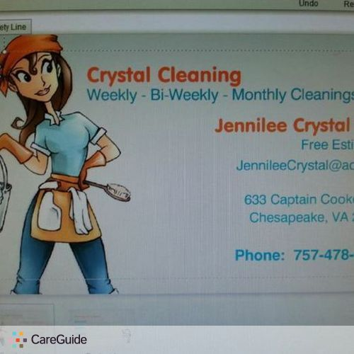 Housekeeper Provider Jennilee Dail's Profile Picture