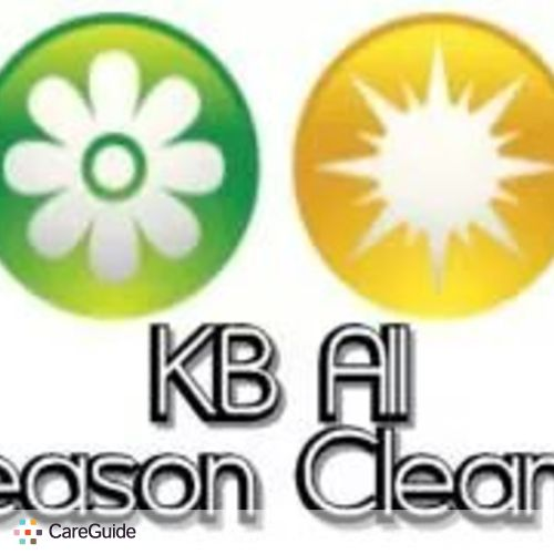 Housekeeper Provider KB All Season Cleaning 's Profile Picture