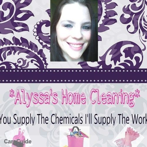 Housekeeper Provider Alyssa Reed's Profile Picture