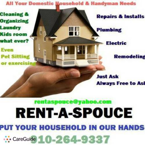 Housekeeper Provider Rent-a- Spouce's Profile Picture