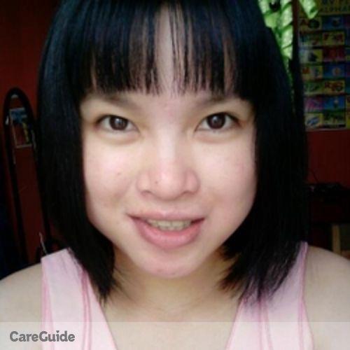 Canadian Nanny Provider Maria FE T's Profile Picture
