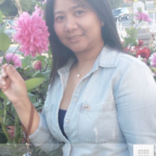 Canadian Nanny Provider Ginalyn Adversalo's Profile Picture