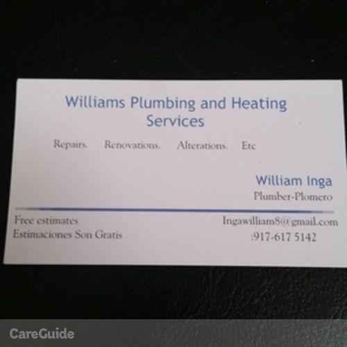 Plumber Provider William Inga's Profile Picture