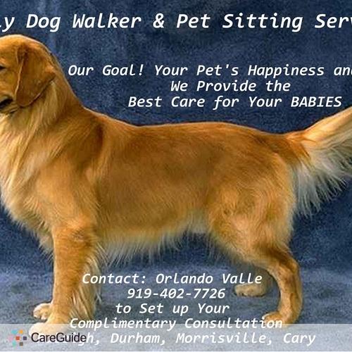 Pet Care Provider Orlando Valle's Profile Picture