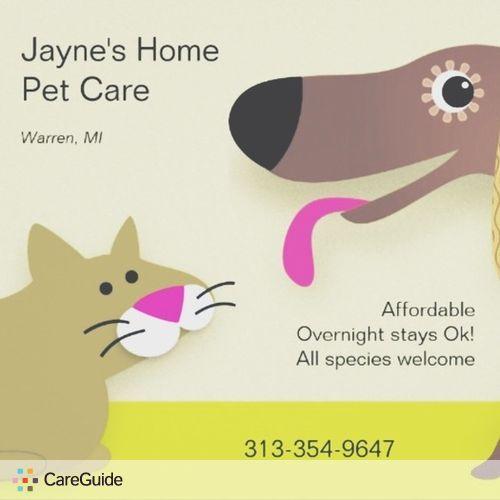 Pet Care Provider Jayne Kurze's Profile Picture