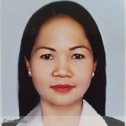 Canadian Nanny Provider Editha Cruz's Profile Picture